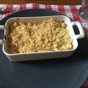 Crumble saumon
